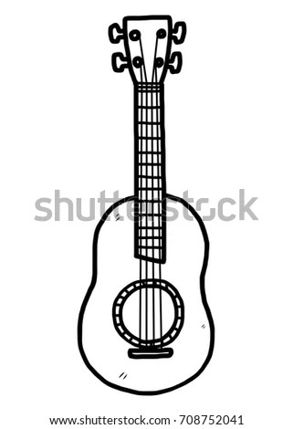 Guitar Cartoon Stock Images, Royalty-Free Images & Vectors