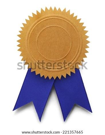 Gold Ribbon Award Stock Images RoyaltyFree Images