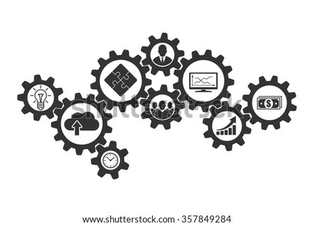 Business Mechanism Concept Cooperation Communications