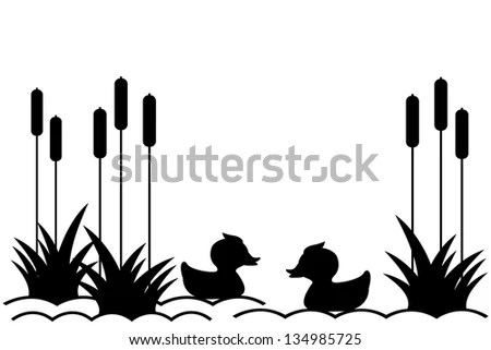 Pond Reeds Stock Images, Royalty-Free Images & Vectors