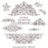 Line Art Floral Stock Images, Royalty-Free Images ...