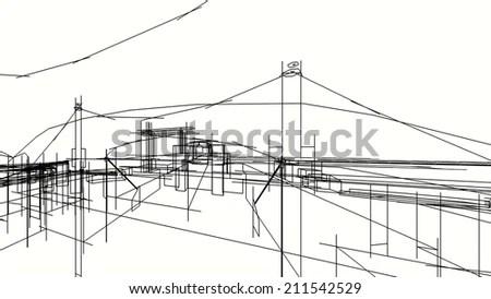 Transmission Substation Power Grid Electric Substation
