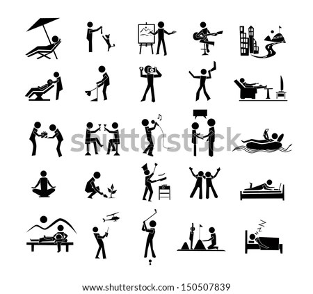 Leisure Icon Stock Images, Royalty-Free Images & Vectors
