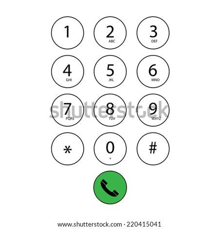 Phone Keypad Stock Images, Royalty-Free Images & Vectors