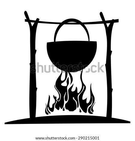 Cooking Silhouette Stock Images, Royalty-Free Images
