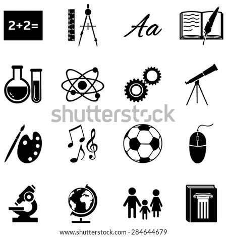 School Subjects Stock Images, Royalty-Free Images