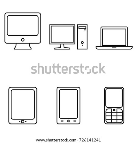 Device Icons Stock Images, Royalty-Free Images & Vectors