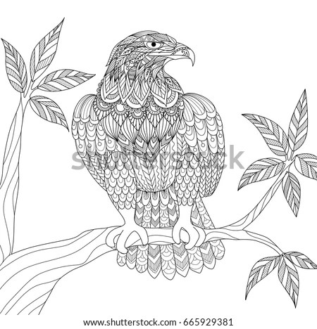 Cartoon Golden Eagle Stock Images, Royalty-Free Images
