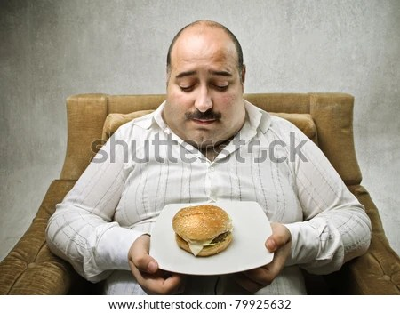 Fat Man Eating Stock Images, Royaltyfree Images & Vectors