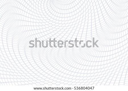 Guilloche Background Monochrome Guilloche Texture Waves