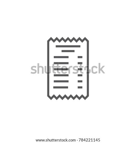 Receipts Stock Images, Royalty-Free Images & Vectors