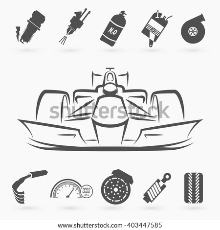 Formula Car Stock Images, Royalty-Free Images & Vectors