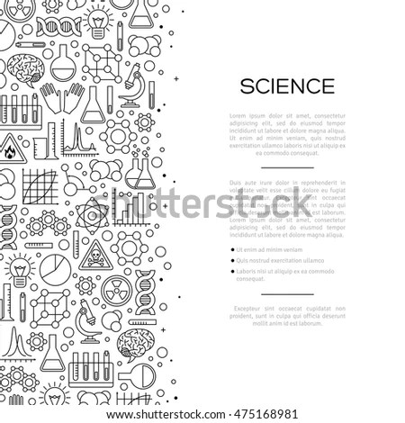 Old Chemistry Laboratory Background Vintage Style Stock