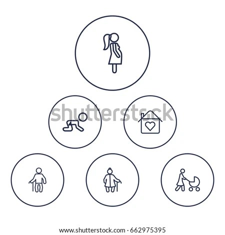 Grandmother-outline Stock Images, Royalty-Free Images
