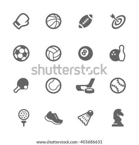 Sports Symbols Stock Images, Royalty-Free Images & Vectors