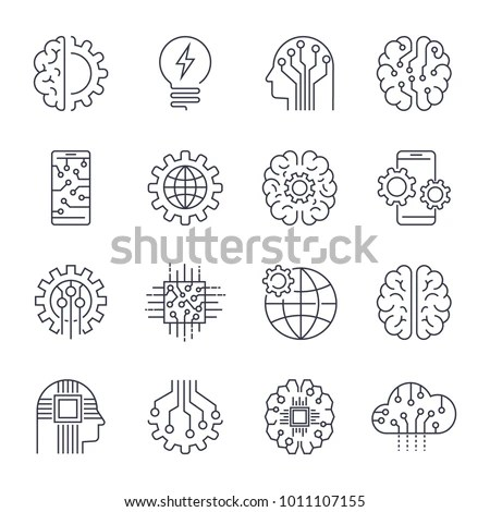 Intelligence Icon Stock Images, Royalty-Free Images