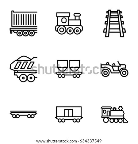 Railway Wagon Stock Images, Royalty-Free Images & Vectors