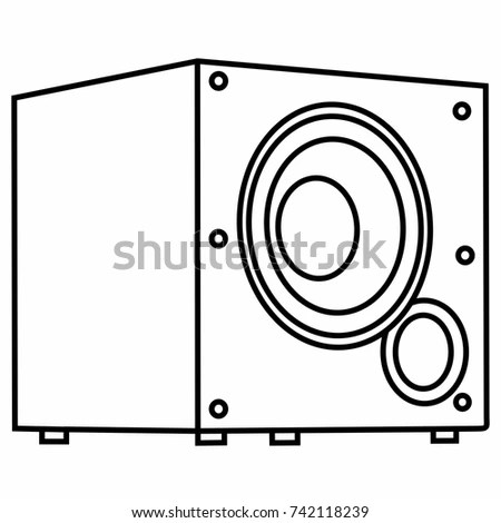 Subwoofer Stock Images, Royalty-Free Images & Vectors