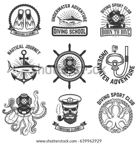 Skull-diver Stock Images, Royalty-Free Images & Vectors
