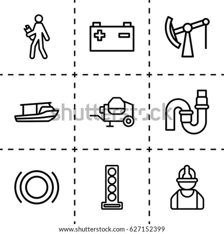 Concrete Worker Stock Vectors, Images & Vector Art