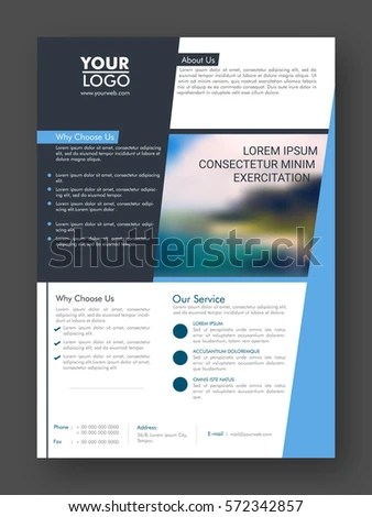 One Page Handout Template Ideal Vistalist Co