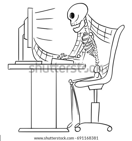Skeleton Computer Stock Images, Royalty-Free Images