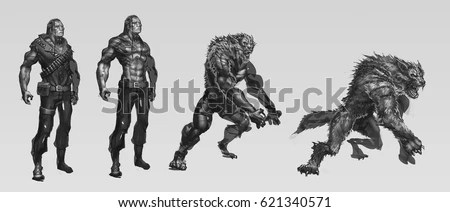 Werewolf Stock Images, Royalty-Free Images & Vectors