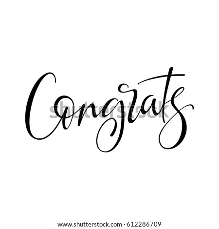 Congrats Stock Images, Royalty-Free Images & Vectors