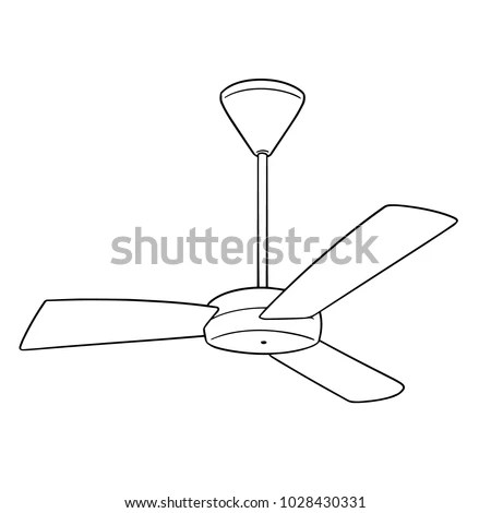 92+ How To Draw A Ceiling Fan How To Draw A Ceiling Fan