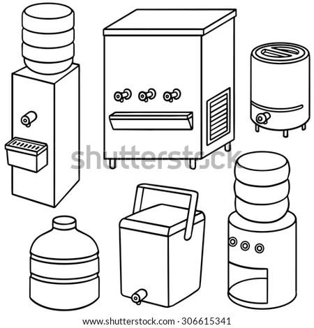 Drink Dispenser Stock Vectors, Images & Vector Art