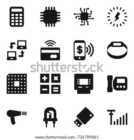 Laptop Side View Connectors Illustration Sd Stock Vector