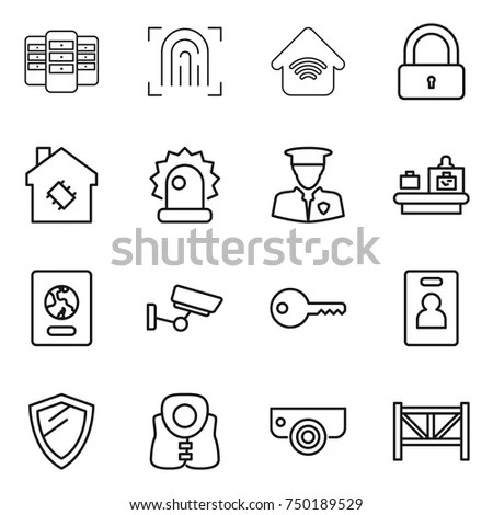 Border Security Concept Stock Images, Royalty-Free Images