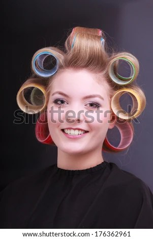Hair Rollers Stock Images Royalty Free Images Amp Vectors