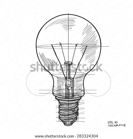 Objects Of Electrical Energy Electrical Energy Drawing