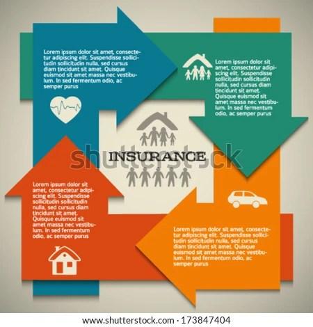 Modern Design Style Infographic Template Illustration