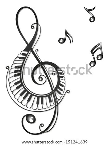 Piano Silhouette Stock Images, Royalty-Free Images