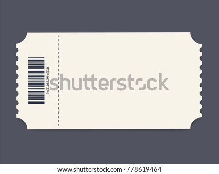 Ticket Template Vector Illustration Event Card Stock Vector ...