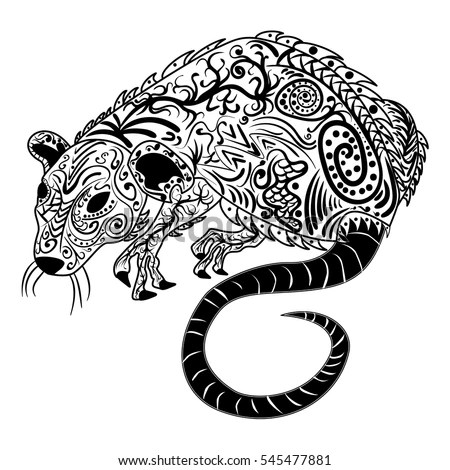 Rat Tattoo Stock Images, Royalty-Free Images & Vectors