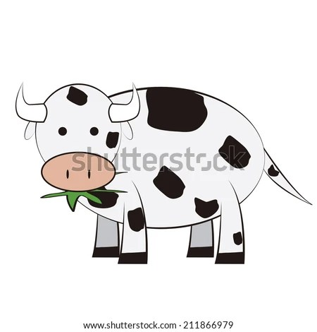 Cow Eating Grass Stock Images, Royalty-Free Images