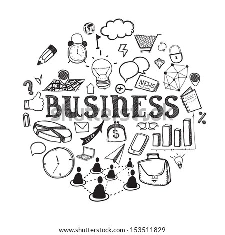 Business Sketch Stock Images, Royalty-Free Images