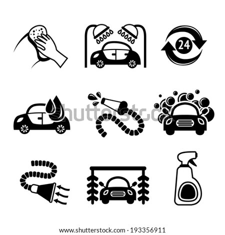 Car Wash Diagram, Car, Free Engine Image For User Manual