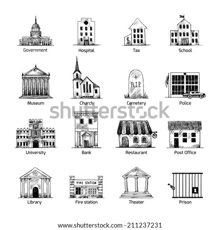 Building Sketch Stock Images, Royalty-Free Images