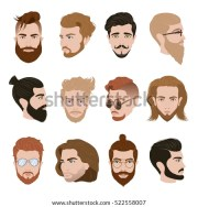men hairstyle collection beards