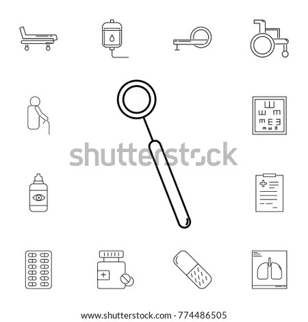 Medical Equipment Supplies Icons Set 1 Stock Vector