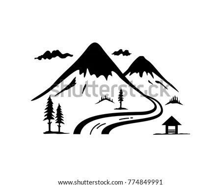 Mountain River Stock Images, Royalty-Free Images & Vectors