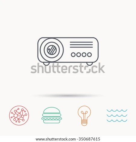 Projector Icon Stock Images, Royalty-Free Images & Vectors