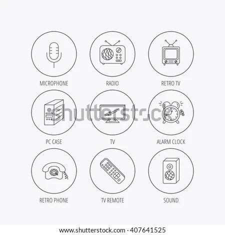 Camera Accessories Thin Line Pixel Perfect Stock Vector