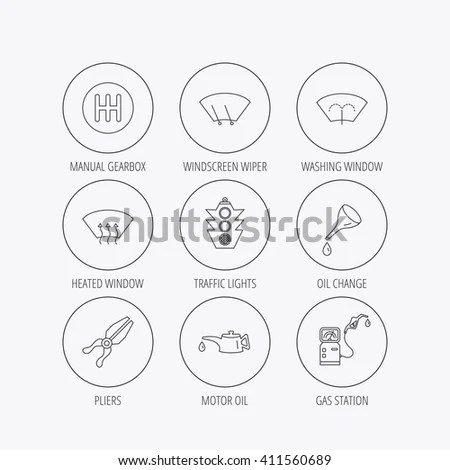 Concept Line Icons Set 7 History Stock Vector 457933210