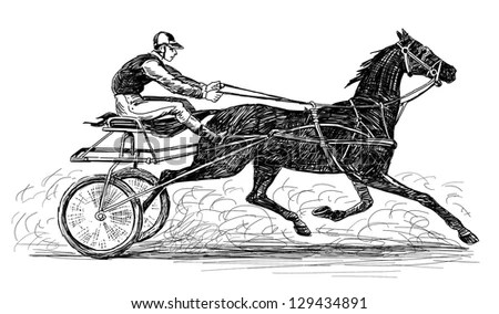 Harness Horse Racing Stock Images, Royalty-Free Images