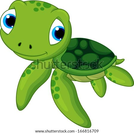 turtle cartoon stock royalty-free
